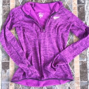 Purple Nike Zip-Up